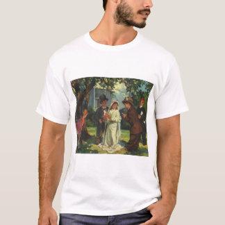Vintage Wedding, Children as Bride and Groom T-Shirt
