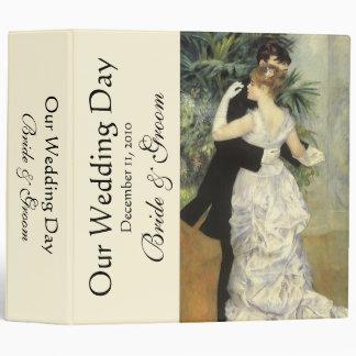 Vintage Wedding, City Dance by Renoir, Binder