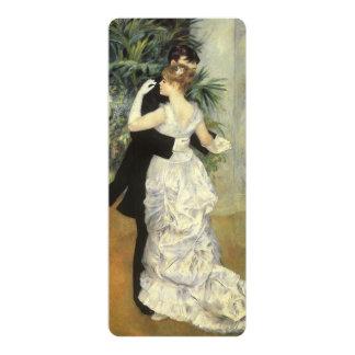 Vintage Wedding, City Dance by Renoir Invites