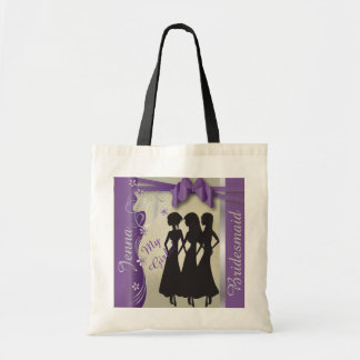 Vintage Wedding Classy Design | Amethyst Purple Tote Bag