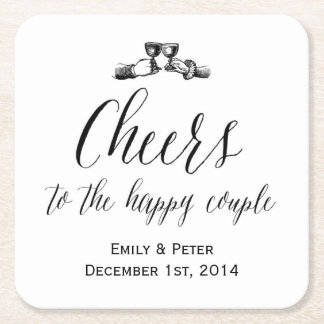 Vintage Wedding Coasters