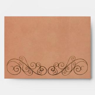 Vintage Wedding Envelope