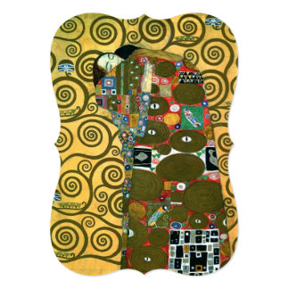 Vintage Wedding, Fulfillment, The Embrace by Klimt Card