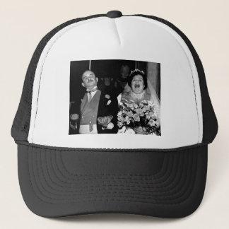 Vintage Wedding Image Trucker Hat