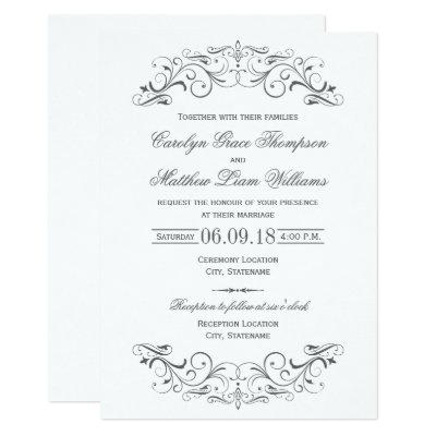 Elegant Invitations Sneide