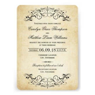 Rustic and Country Themed Wedding Invitations Cheap Wedding