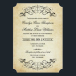 """Vintage Wedding Invitations 