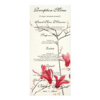 Vintage Wedding, Japanese Magnolia Tree Rack Card