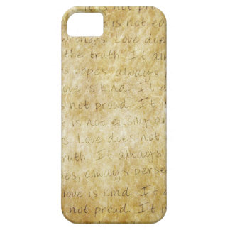 Vintage  Wedding Love is Patient iPhone 5 Covers