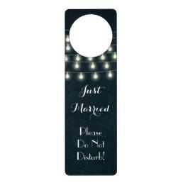 Vintage Wedding Night Honeymoon Do Not Disturb Door Hanger