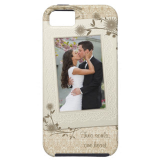 Vintage Wedding Photo Template iPhone 5 Case