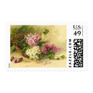 Vintage Wedding Postage - Lilac