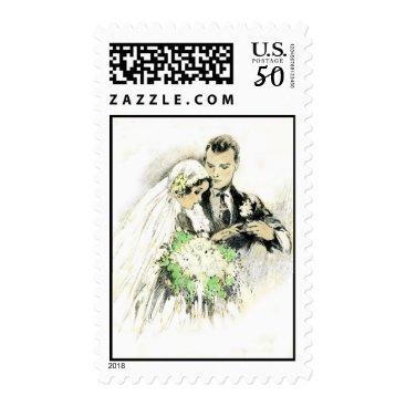 lkranieri Vintage Wedding Postage Stamp