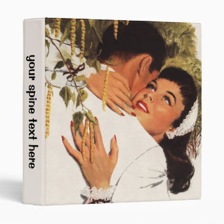 Vintage Wedding Proposal, Love and Romance 3 Ring Binder