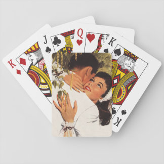 Vintage Wedding Proposal, Love and Romance Playing Cards
