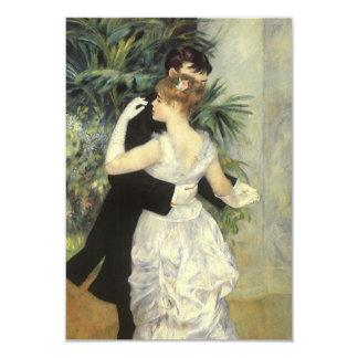 Vintage Wedding Response Card, City Dance, Renoir 3.5x5 Paper Invitation Card