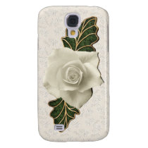 Vintage Wedding Rose Samsung S4 Case