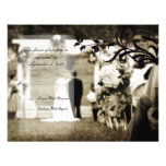 Vintage Wedding RSVP Personalized Announcement