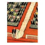 Vintage Wedding Save the Date Bride Groom Newlywed Post Cards