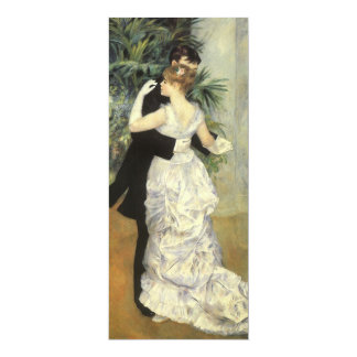 Vintage Wedding Save the Date, City Dance, Renoir Card