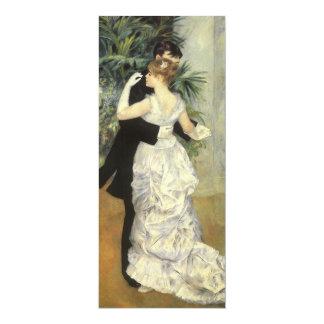 Vintage Wedding Save the Date, City Dance, Renoir Custom Announcement