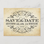 """Vintage Wedding Save the Date 