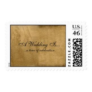Vintage Wedding Stamps
