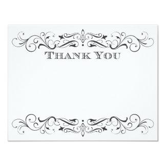 Vintage Wedding Thank You Cards | Elegant Flourish