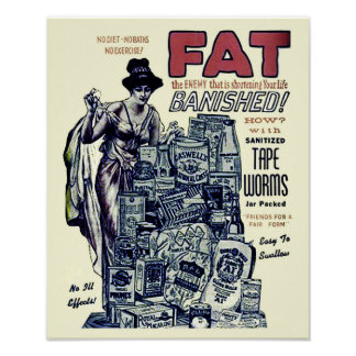 Vintage Weight Loss Advertisement - Print