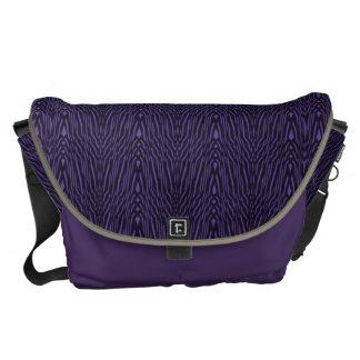 Vintage Weiner Werkstatte Design in Purple Messenger Bags