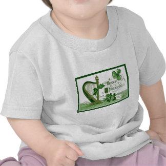 Vintage Welcome Shamrock Harp St Patrick's Day T Shirts