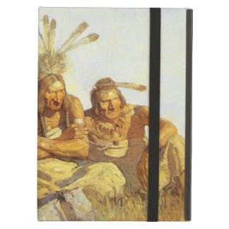 Vintage West, Guardians War or Peace by NC Wyeth Case For iPad Air