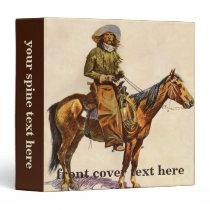 Vintage Western, An Arizona Cowboy by Remington Binder