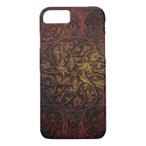 vintage western country tooled leather iPhone 8/7 case