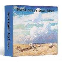Vintage Western Cowboys, Covered Wagons by Wyeth Binder