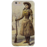 Vintage Western Cowgirl, Miss Annie Oakley Barely There iPhone 6 Plus Case
