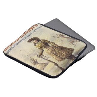 Vintage Western Cowgirl, Miss Annie Oakley Laptop Computer Sleeve