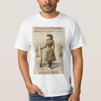 Vintage Western Cowgirl, Miss Annie Oakley T-Shirt