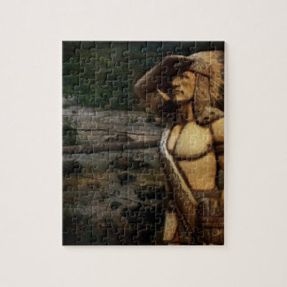 Vintage western Indian rustic fashion Puzzle