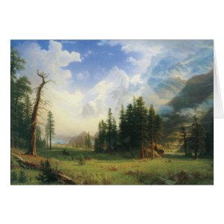 Vintage Western Landscape Card