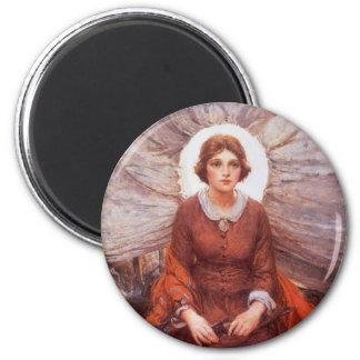 Vintage Western, Madonna of the Prairie by Koerner Magnet