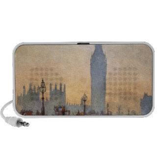 Vintage Westminster Bridge Big Ben London England Notebook Speakers