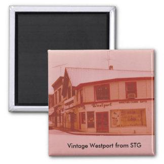 Vintage Westport Magnet - Railroad Place