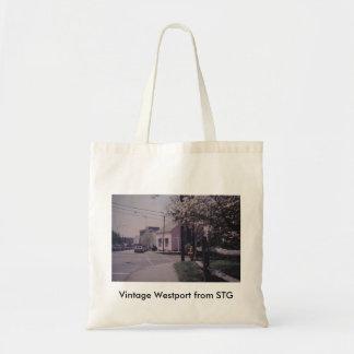 Vintage Westport Tote Bag - Remarkable Book Shop