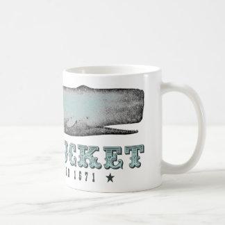 Vintage Whale Nantucket MA Inc 1671 Mug