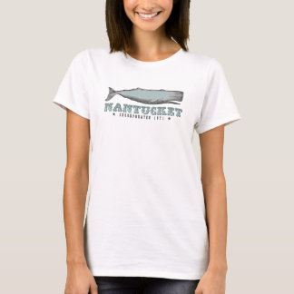 Vintage Whale Nantucket MA Inc 1671 T-Shirt