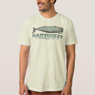 Vintage Whale Nantucket Massachusetts Inc 1671 Tee Shirt