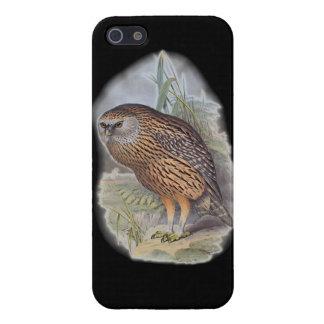 Vintage Whekau extinct laughing owl Case For iPhone SE/5/5s