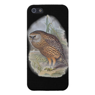 Vintage Whekau extinct laughing owl Covers For iPhone 5