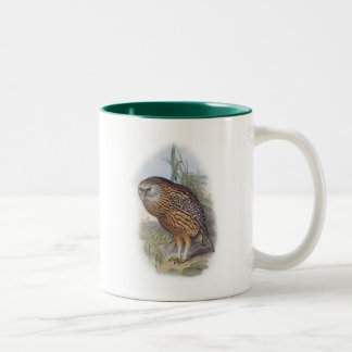 Vintage Whekau extinct laughing owl Mug